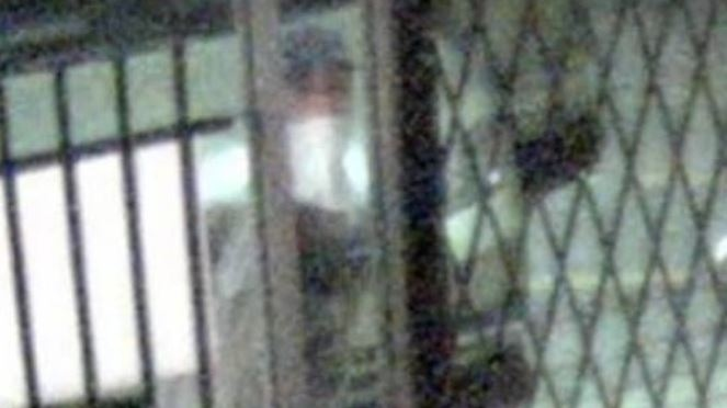 A surveillance photo of a suspect in the smash and grab at PC Outfitters in Windsor on July 10, 2018. (PC Outfitters)