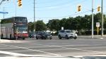 Pedestrian struck in serious condition