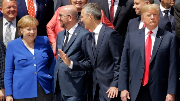 NATO Summit first day overshadowed by tensions between allies