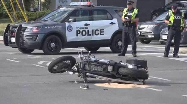 Mississauga motorcycle collision
