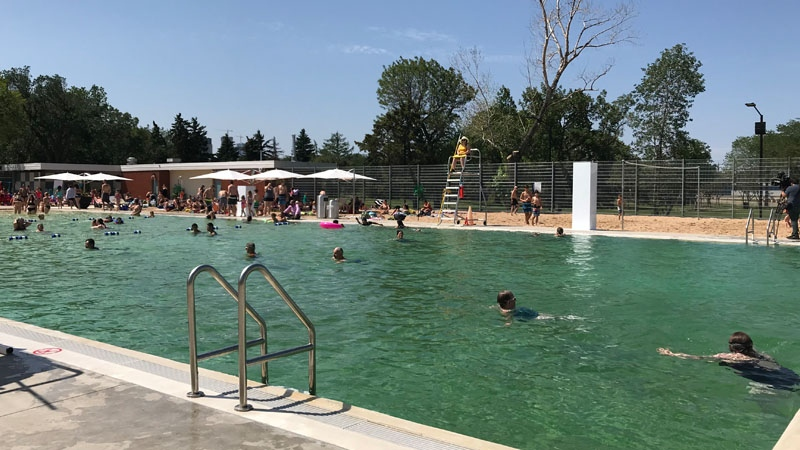 Edmonton says chemical-free swimming pool first in Canada ...