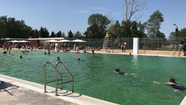 Edmonton Says Chemical Free Swimming Pool First In Canada