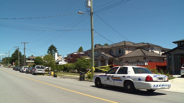 Burnaby hom ehit by bullets