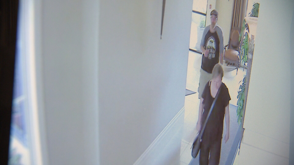 These Good Samaritans walked Mary Johnston home.