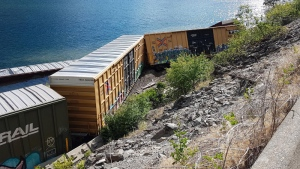 Derailment at Gates Lake
