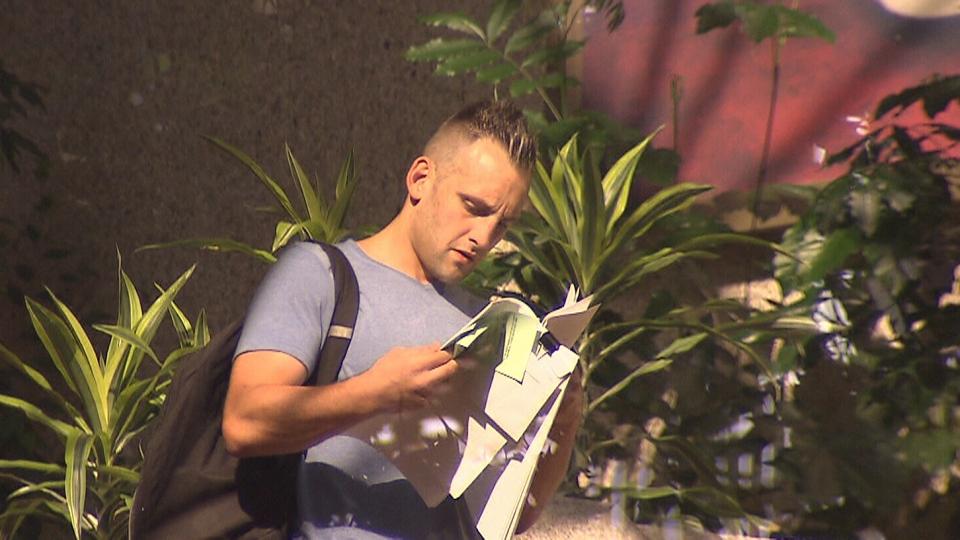 Matthew Chris Limowski is seen on July 11, 2018.