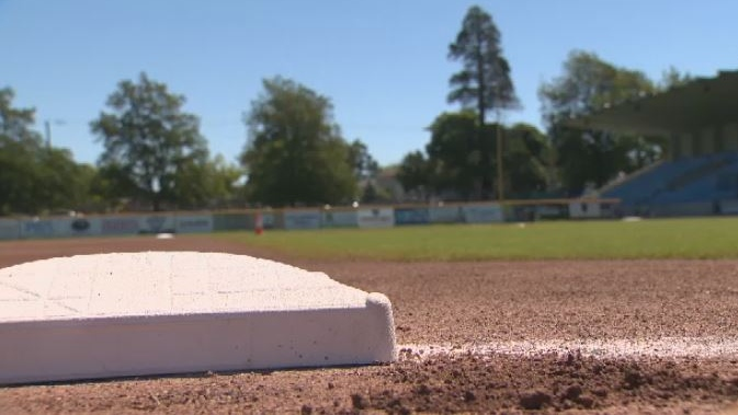 The Victoria Harbourcats are giving away the last prize a baseball fan would ever need – a funeral package. July 11, 2018. (CTV Vancouver Island)