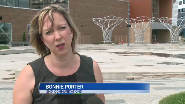 SMG Communications is responsible for booking events and director Bonnie Porter says the new facility has been an easy sell.