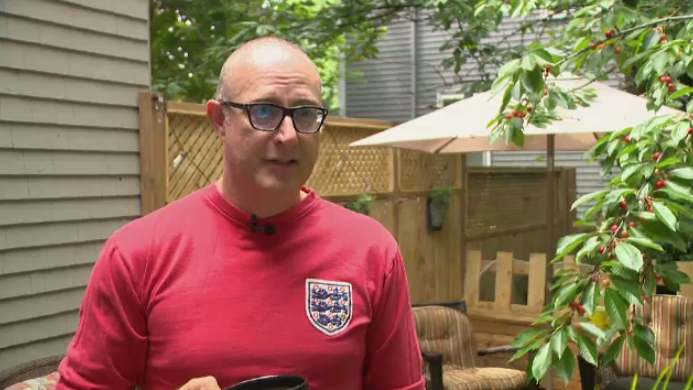 Mark Harper was hoping for an England win on his 50th birthday.