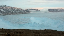 6-kilometre chunk of ice breaks off glacier