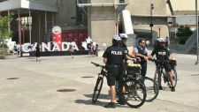 Police investigation in Toronto