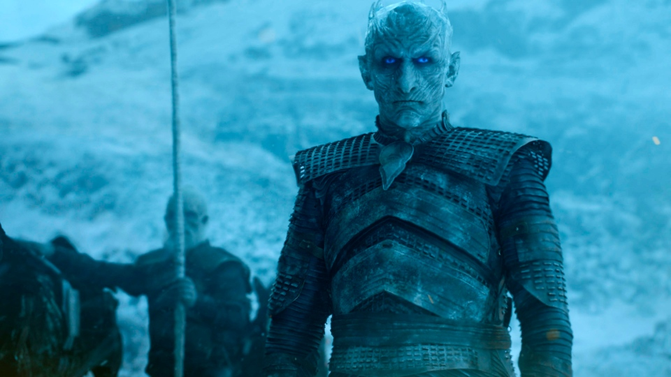 """This image released by HBO shows a scene from """"Game of Thrones."""" (HBO via AP)"""