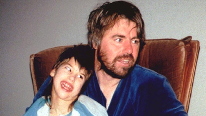 Robert Latimer and daughter Tracey are shown at home in this undated handout photo. (Maclean's / THE CANADIAN PRESS)