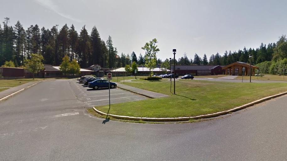 The North Island College campus in Campbell River is shown in an undated Google Maps image.
