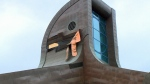 Thunderbird House roof falls apart