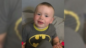 Grande Prairie RCMP were searching for Myles, age 2