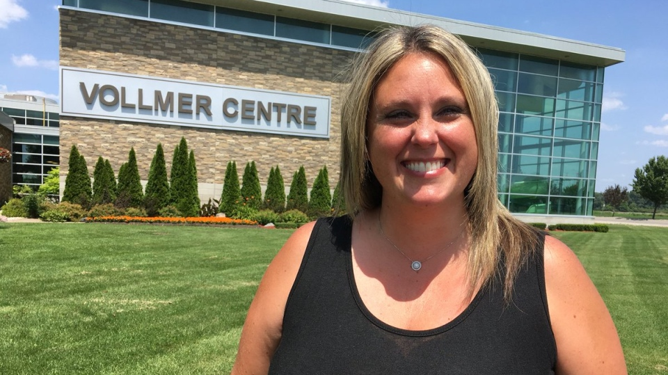 LaSalle councillor Crystal Meloche had her motion approved by council to ban plastic straws from the Vollmer complex. ( Chris Campbell / CTV Windsor )