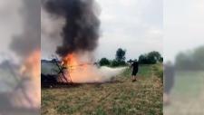 Pilot dies in fiery Buttonville plane crash