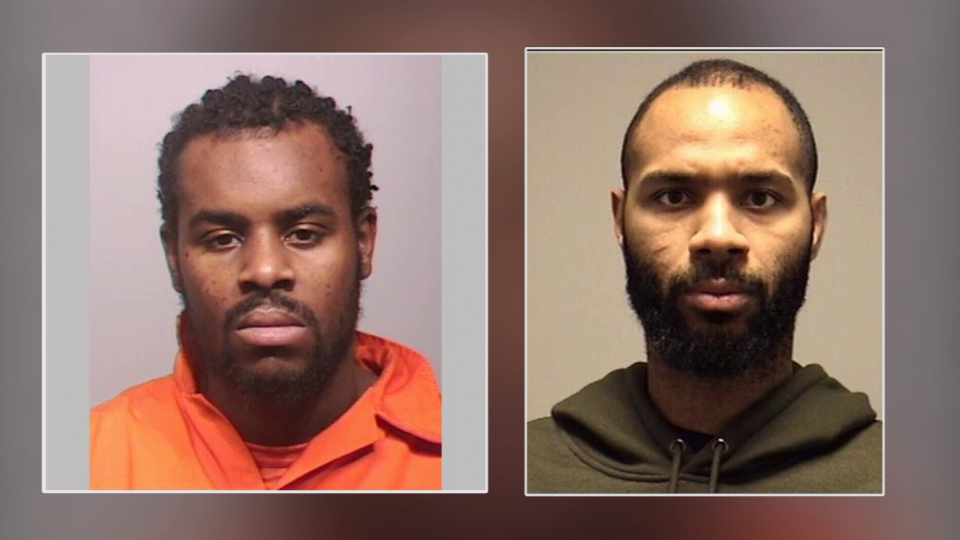 Donovan Bishop and Kyro Spark in photos released by Waterloo Regional Police. (July 12, 2018)