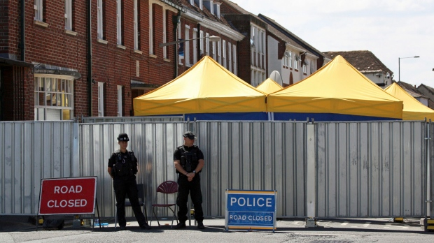 Police find source of Novichok poisoning in victim's house
