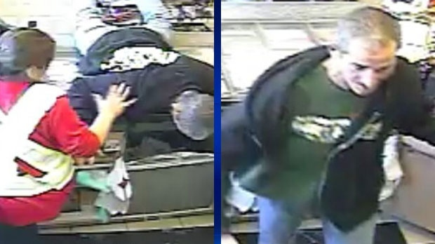 Cigarette theft suspect