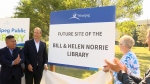 New library for River Heights