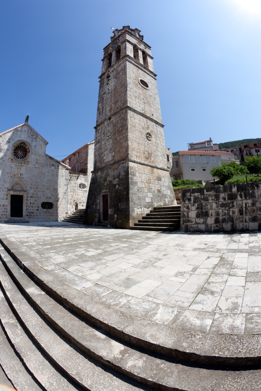 Church tower in Blato, Korcula (jasminam / iStock)