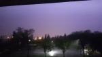 thunderstorm edmonton