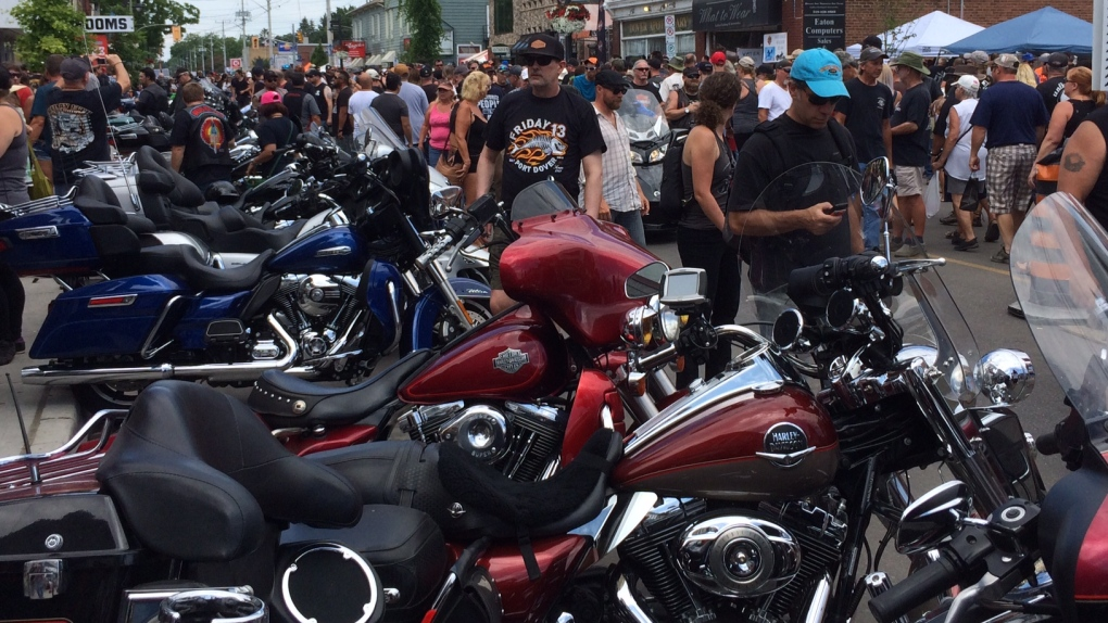 OPP warns drivers of increased motorcycle traffic today for Port Dover event