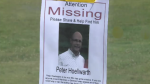 Hundreds of volunteers are trying to find Peter Hoellwarth, who has been missing for more than a week.