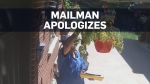 Mailman who stole tomatoes apologizes with a gift