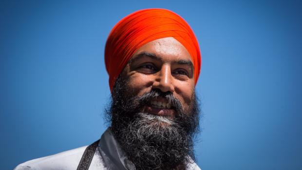 Jagmeet Singh in Vancouver