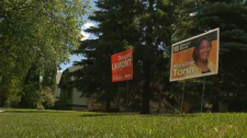 St. Boniface election signs