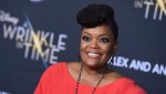 "In this Feb. 26, 2018 file photo, Yvette Nicole Brown arrives at the world premiere of ""A Wrinkle in Time"" at the El Capitan Theatre in Los Angeles. (Jordan Strauss/ Invision/ AP)"