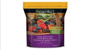 Europe's best field berry recall