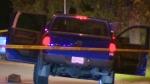 Suspect shot after six-hour incident