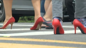 Walk a mile in women's shoes