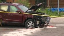 fatal Burlington pedestrian collision