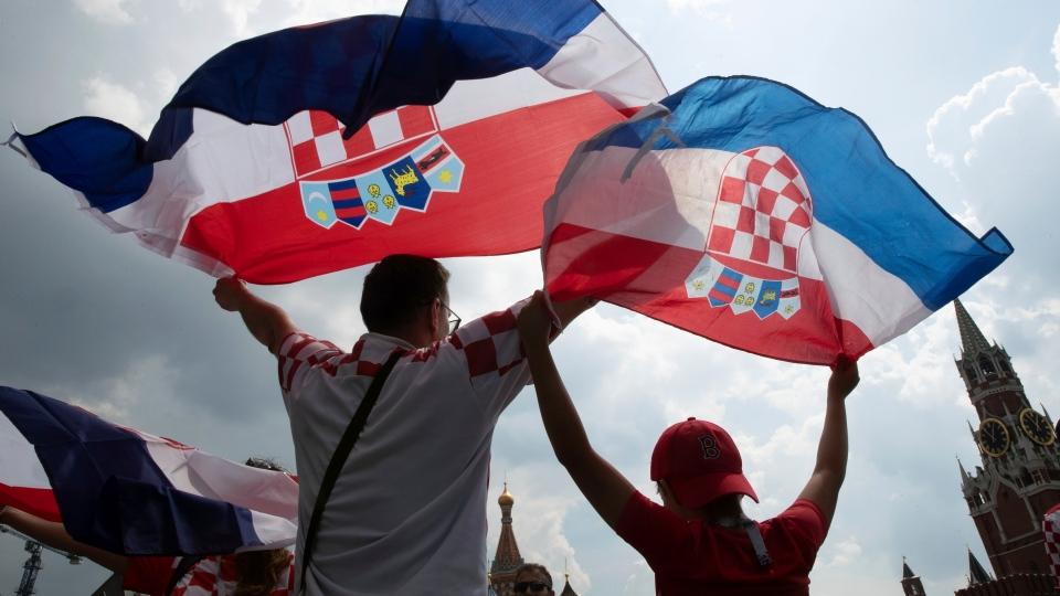 Croatia's soccer fans