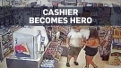 Cashier rescues kidnapped woman in California