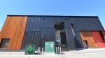 The Wood Innovation Research Lab, shown in this undated handout image, in Prince George, B.C., appears to be nothing more than a modern cedar and black-metal building, but look past the cladding and you'll find an engineering feat that has earned it the recognition as the most airtight industrial building on the continent. THE CANADIAN PRESS/HO-UNBC