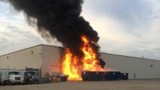 Fire at TopLine Farms