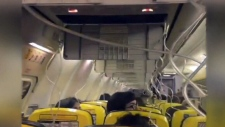 Ryanair flight
