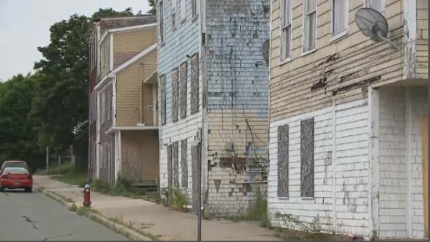 Building sit vacant in Saint John