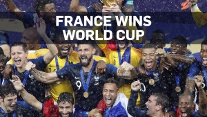 France beats Croatia 4-2 in World Cup final