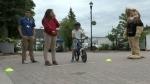 Biking safely in Timmins