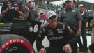 Robert Wickens at the Honda Indy in Toronto.