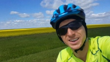 Vancouver YouTuber Kurtis Baute in Saskatchewan.