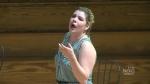 Opera singer Chantal Grybas
