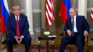 Trump and Putin meet in Helsinki